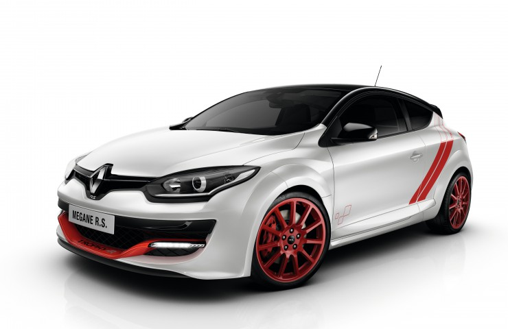 RENAULT MEGANE III COUPE RENAULT SPORT 275 (D95 RS 275) - TROPHY-R LIMITED EDITION